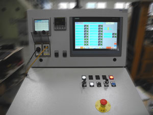 ABRA FLUID AG - Controller of a cold isostatic press