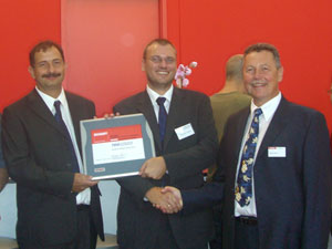 Presentation of Beckhoff Solution Partner Certificate